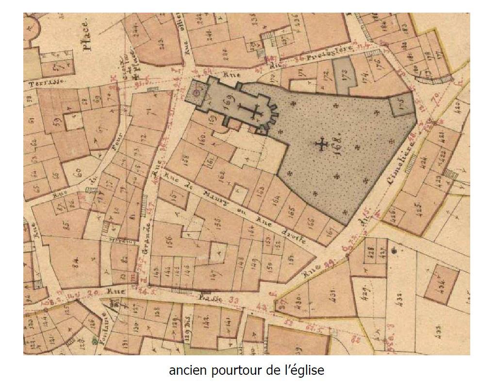 Jardin du Cur'_Cadastre 1833