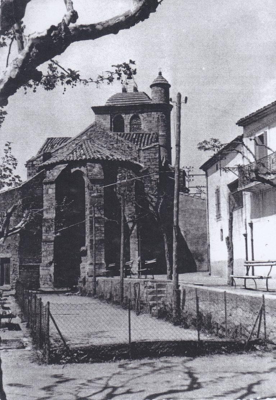 Jardin du cur'-jeu de boules 1950