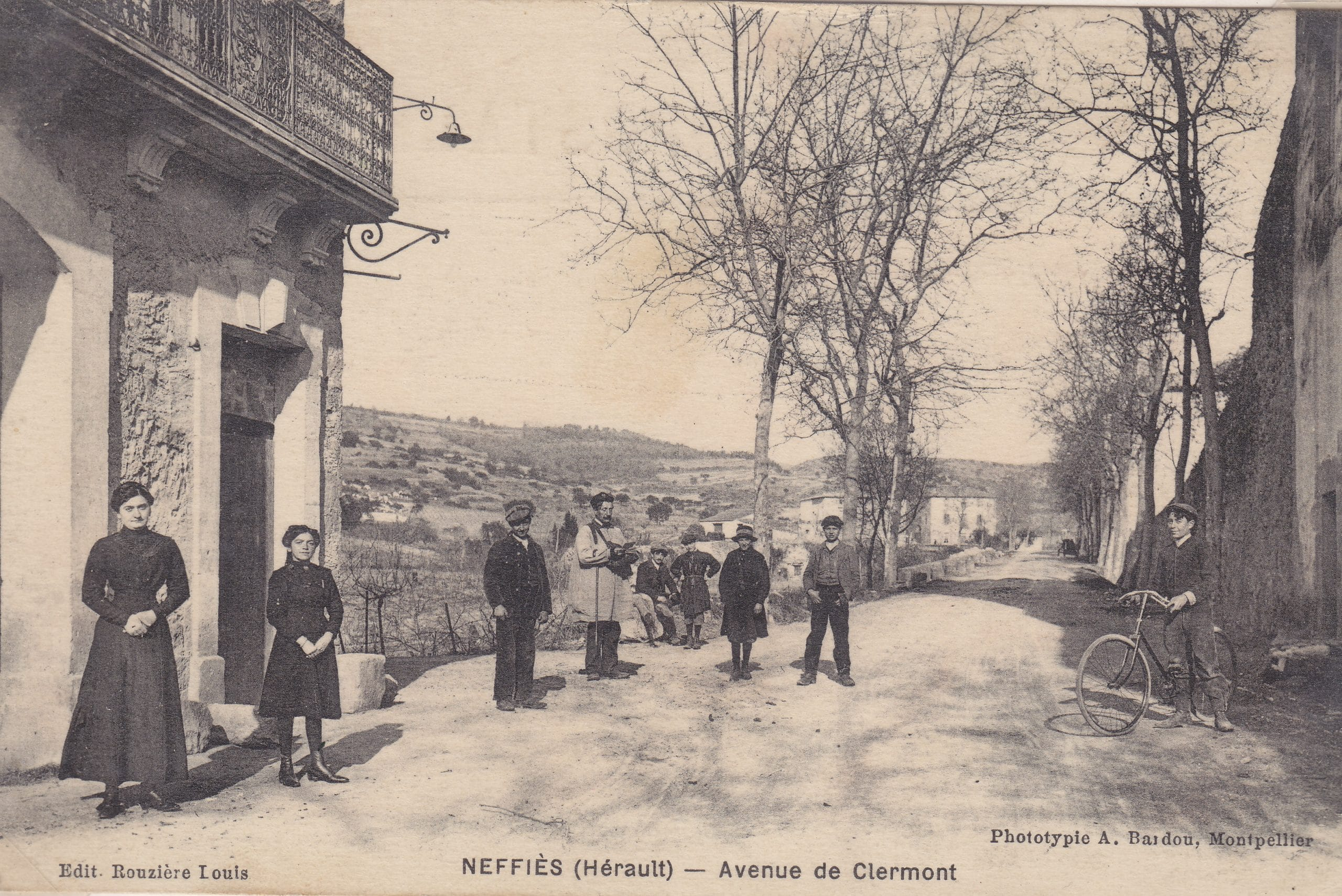 Le facteur Pradines 1910