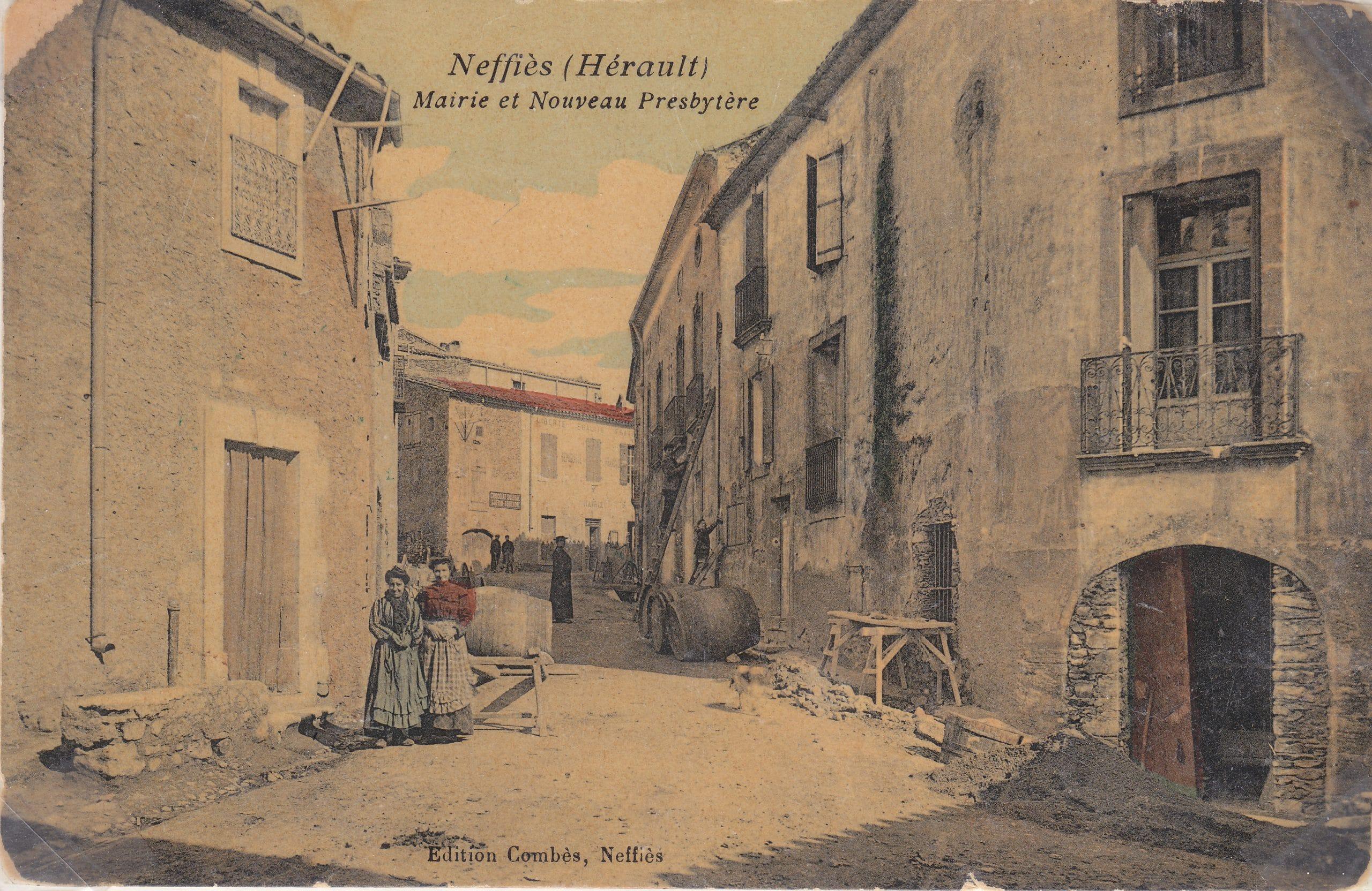 Rue commerçante 1900