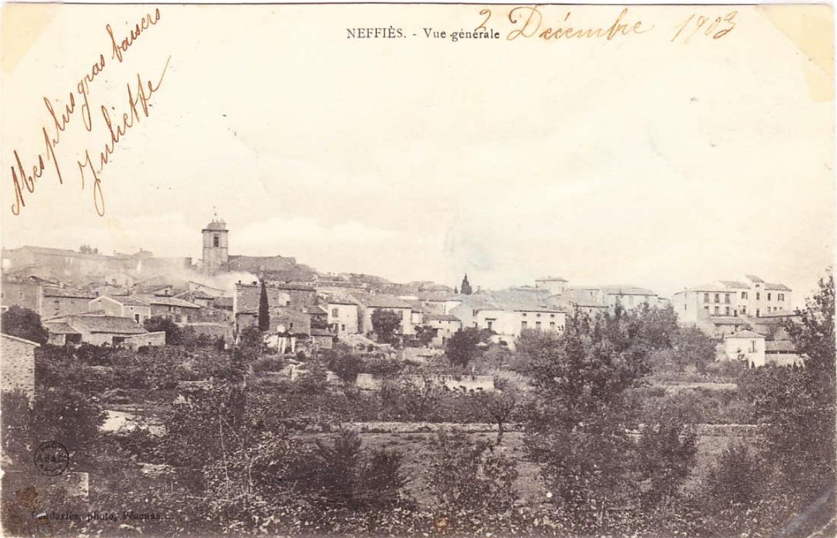 Vue générale 1903